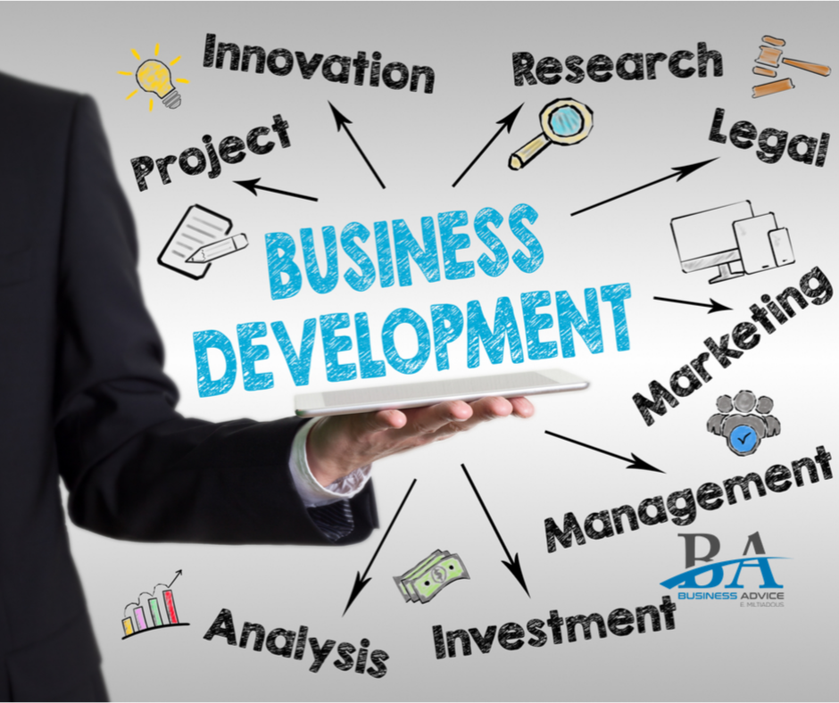 Business development services | Business Advice E. Miltiadous
